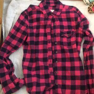 Abercrombie kids flannel